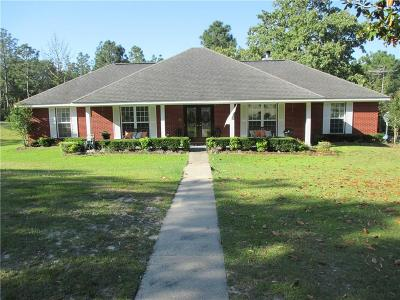Citronelle Single Family Home For Sale: 11735 Beverly Jefferies Highway