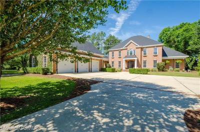Mobile County Single Family Home For Sale: 3910 Lakefront Drive #PVT