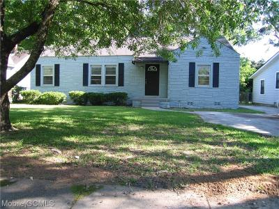 Mobile County Single Family Home For Sale: 2727 Ralston Road