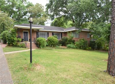 Mobile Single Family Home For Sale: 335 Dalewood Drive