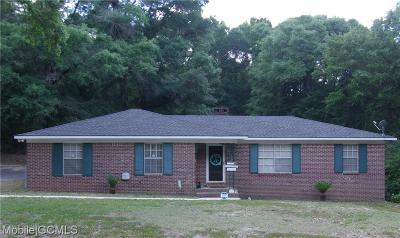 Semmes AL Single Family Home For Sale: $133,000
