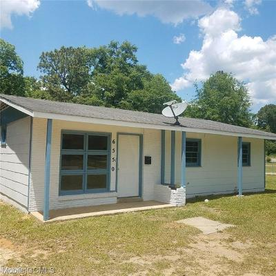 Mobile Single Family Home For Sale: 6550 Skipper Drive