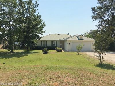 Coden Single Family Home For Sale: 14679 Dauphin Island Parkway