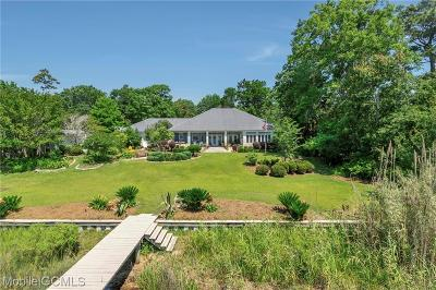 Theodore Single Family Home For Sale: 3831 Bebee Point Drive