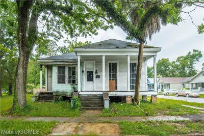 Mobile Single Family Home For Sale: 400 Charles Street