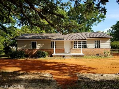 Grand Bay Single Family Home For Sale: 10521 Deer Drive