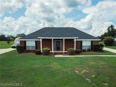 Semmes Single Family Home For Sale: 9873 Wolfe Court