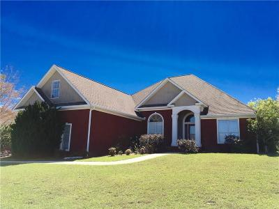 Saraland Single Family Home For Sale: 3611 Willow Walk Drive