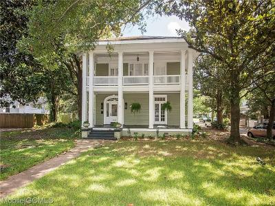 Mobile Single Family Home For Sale: 1762 Dauphin Street