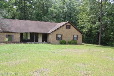 Citronelle Single Family Home For Sale: 20915 Averett Lane