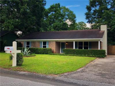 Theodore Single Family Home For Sale: 5525 Plantation Oaks Drive