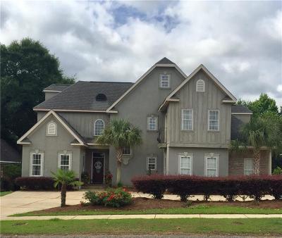 Mobile Single Family Home For Sale: 8865 Dawes Lake Road N