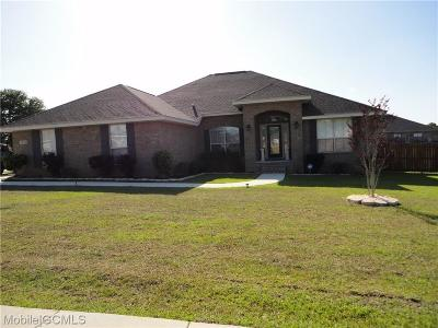 Semmes Single Family Home For Sale: 2253 Edison Drive