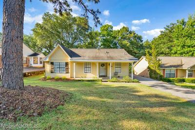 Mobile County Single Family Home For Sale: 5629 Green Tree Road