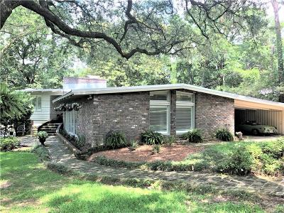 Mobile County Single Family Home For Sale: 61 Ridgelawn Drive E