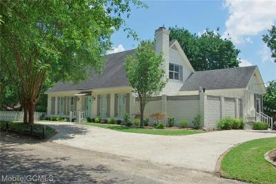 Mobile County Single Family Home For Sale: 264 Batre Lane