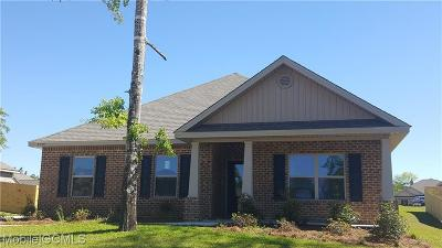 Mobile County Single Family Home For Sale: 8285 Marigold Loop
