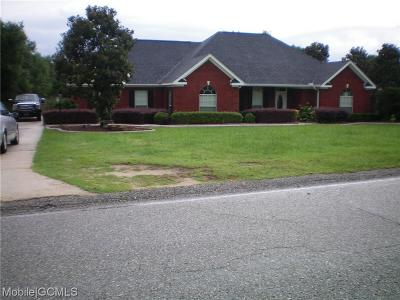 Saraland Single Family Home For Sale: 3545 Sandy Oaks Drive