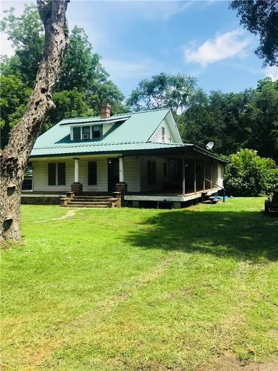 Grand Bay Single Family Home For Sale: 13200 Old Pascagoula Road