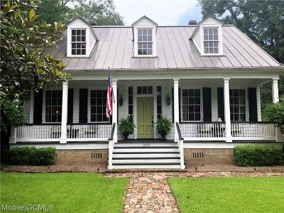 Mobile County Single Family Home For Sale: 2009 Old Shell Road