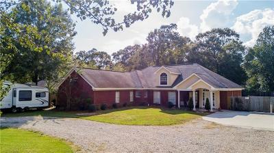 Mobile Single Family Home For Sale: 2400 East Road