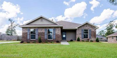 Semmes Single Family Home For Sale: 8590 Oak Hill Drive