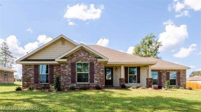 Semmes Single Family Home For Sale: 8576 Oak Hill Drive