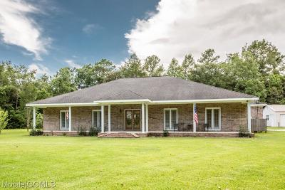 Theodore Single Family Home For Sale: 11390 Byrnewood Road E