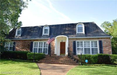 Mobile County Single Family Home For Sale: 3717 Calderwood Drive