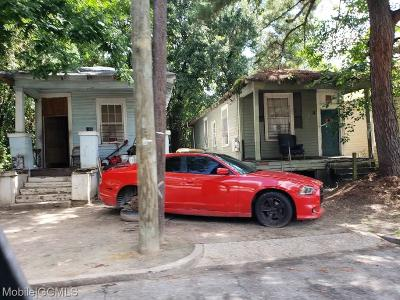 Mobile Single Family Home For Sale: 1306 Hercules