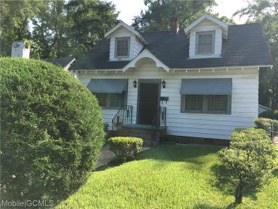 Mobile County Single Family Home For Sale: 613 Ivis Avenue