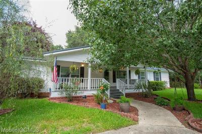 Mobile County Single Family Home For Sale: 413 Powell Lane