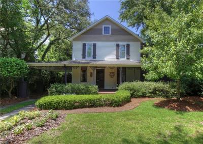 Baldwin County Single Family Home For Sale: 117 Fairhope Avenue