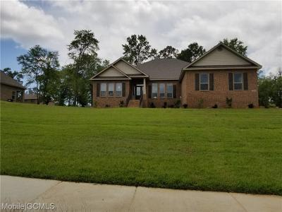 Semmes Single Family Home For Sale: 7481 Clairmont Drive N