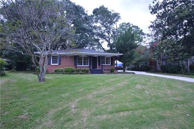 Mobile County Single Family Home For Sale: 36 Chadwick Drive