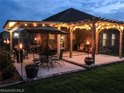 Mobile County Single Family Home For Sale: 9960 Summer Woods Court