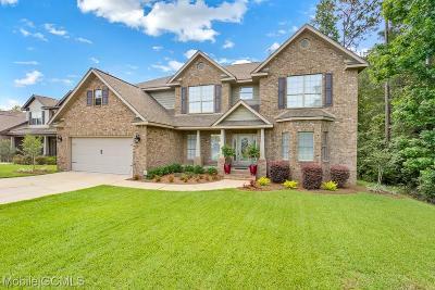 Mobile Single Family Home For Sale: 3423 Bristlecone Drive