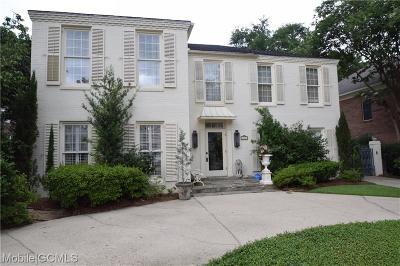 Mobile County Single Family Home For Sale: 224 Lakewood Drive E