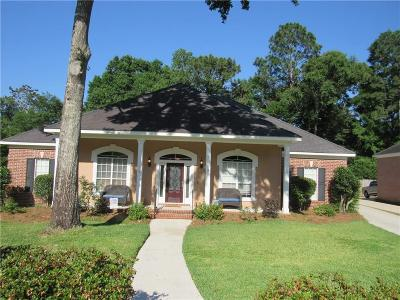 Mobile Single Family Home For Sale: 1055 Southern Way Court