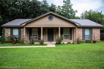 Theodore Single Family Home For Sale: 7172 Pecan Terrace Drive