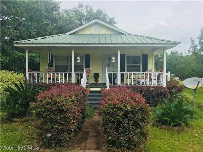 Theodore Single Family Home For Sale: 4550 Bay Road
