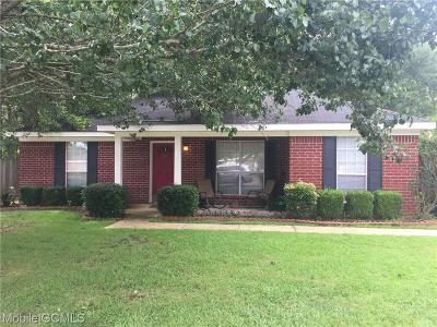 Semmes Single Family Home For Sale: 1925 Woodvalley Court