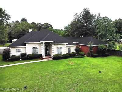 Mobile Single Family Home For Sale: 1031 Walter Smith Road