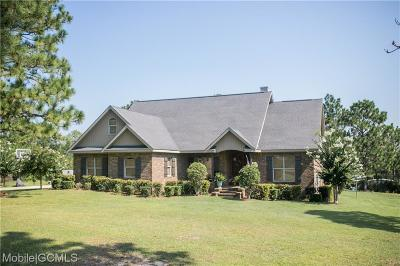 Citronelle Single Family Home For Sale: 8050 Maree Street