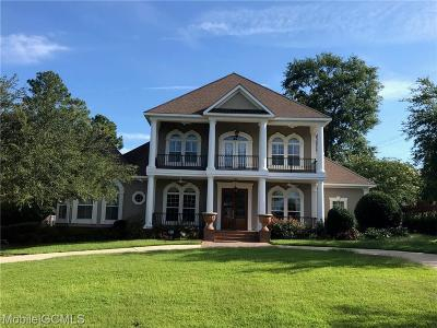 Mobile Single Family Home For Sale: 7122 Charleston Pointe Court