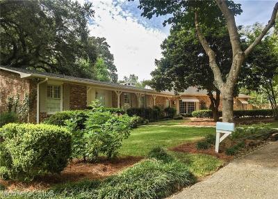 Mobile Single Family Home For Sale: 17 Provident Lane
