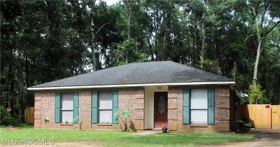 Irvington Single Family Home For Sale: 7777 Rainbow Court