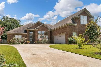 Mobile Single Family Home For Sale: 9517 McRae Place Court