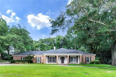 Mobile Single Family Home For Sale: 209 Childree Drive