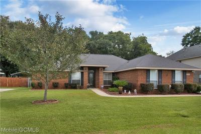 Semmes Single Family Home For Sale: 9700 Brooklyns Way N